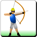 Test your shooting skill by shoot the apple in your friends head . Use your mouse to aim and shoot the apple