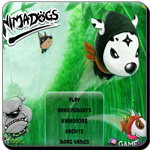 Destroy the evil dogs to find out the missing ninja dog master