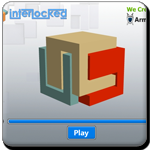 Solve the puzzle by unlock the interlocked blocks